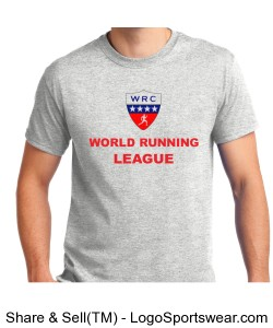 World Running League T-Shirt Design Zoom